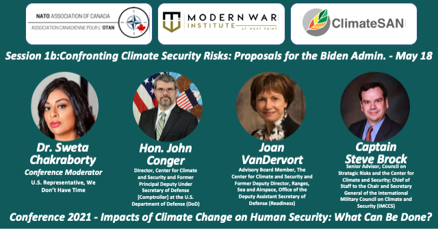 Session 1b: Confronting Climate Security Risks: Proposals for the Biden Administration