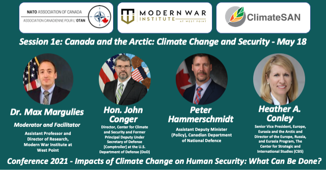 Session 1e: Canada and the Arctic: Climate Change and Security